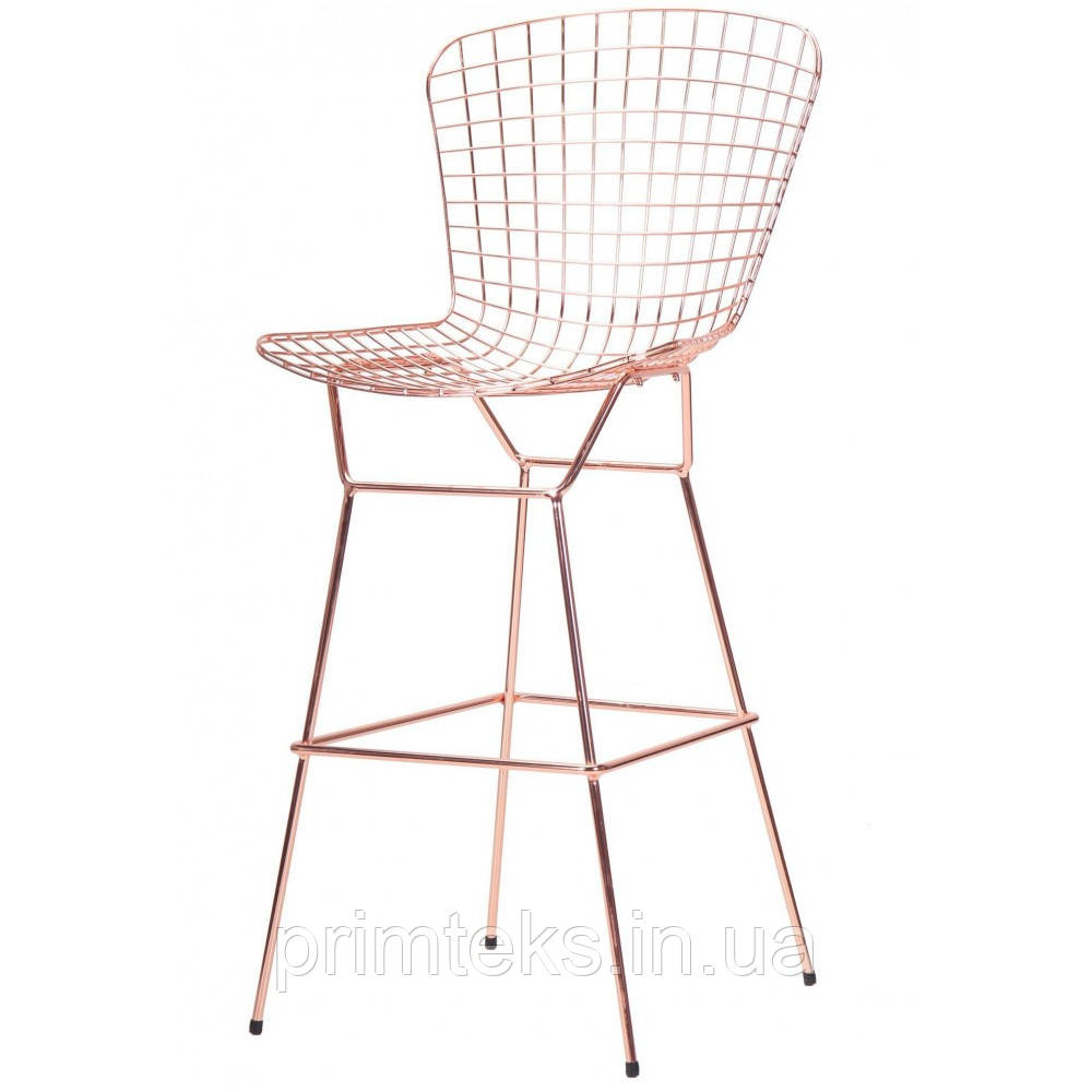 Барный стул TODI ROSE GOLD