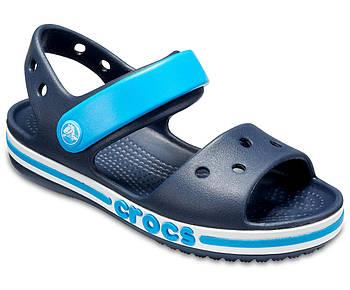 Сандалии на мальчика Crocs Kids' Bayaband Sandal C11 р-р 26-27 (стелька 16,5 см) синие (оригинал)