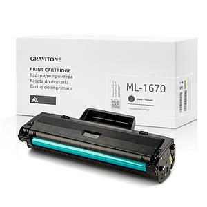 Сумісний Картридж SAMSUNG ML-1670 (ML-1670/XEV), 1.500 копій, аналог від Gravitone