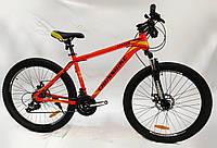 """Велосипед Crossbike Leader 26"""" оранжевый"""