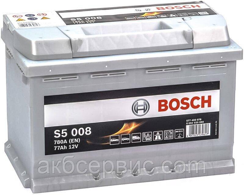 Аккумулятор автомобильный Bosch 6СТ-77 S5 Silver Plus (S50 080)