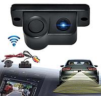 Автокамера с парктроником CAR CAM 01R / Автомобильная камера заднего вида