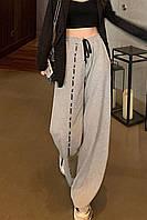Женские  спортивные брюки из петли с  накатом 42