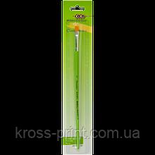 Кисть синтетика плоская 2, блистер, KIDS Line