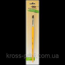 Кисть пони плоская 8, блистер, KIDS Line