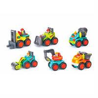 Игрушечная машинка Hola Toys Строительная техника, 6 шт