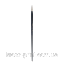 Кисть синтетика, Ocean 6974, круглая,№ 2, длинная ручка, ART Line