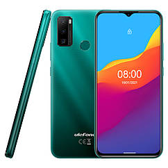 Смартфон Ulefone Note 10 2/32GB Aurora Green 5500 маг