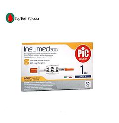 Шприцы инсулиновые Инсумед 1 мл ( Iinsumed 1 ml ) 30G - 1 упаковка