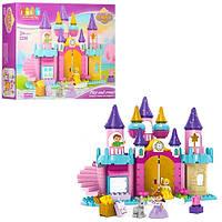 Детский конструктор Jun Da Long Toys Замок принцессы Разноцветный 113 деталей Яркий Качественный