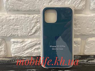 Чохол Silicon Case iPhone 12,12 Pro/Космос/