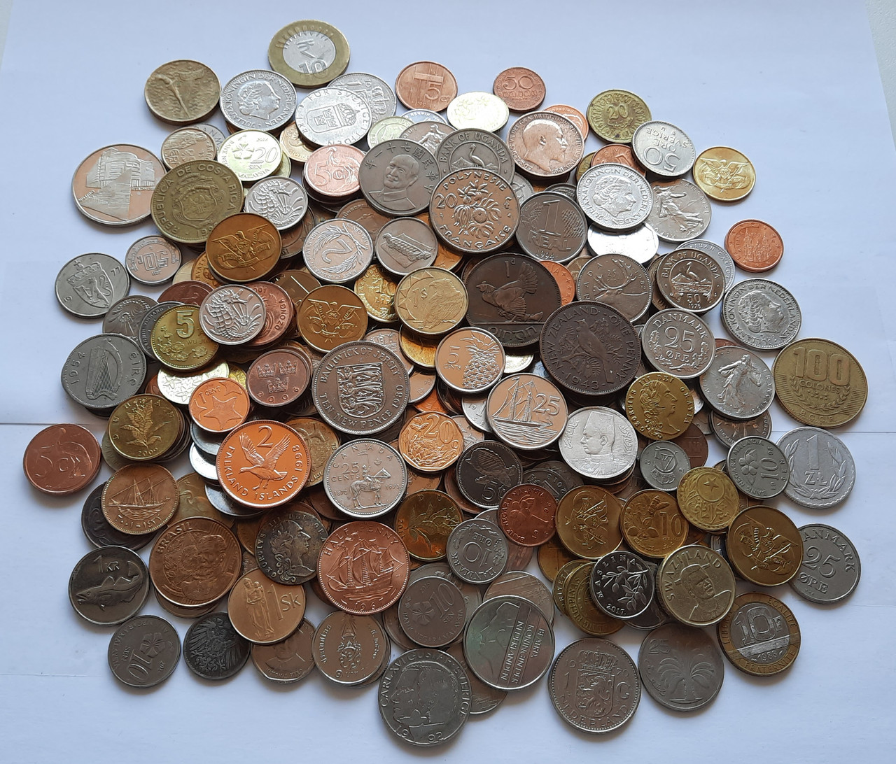 Монеты Мира 1 кг.