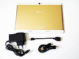 "10,1"" Планшет TabPro Золотистий 2Sim - 8Ядер+4GB Ram+32Gb ROM+GPS+Android + TypeC, фото 2"