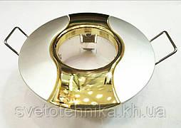 Светильник потолочный MR-11 золото литой, неповоротный, комбинированный Comtech
