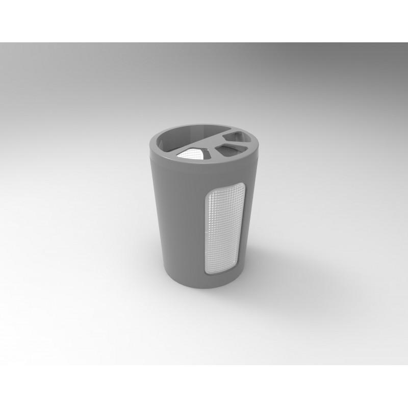 Підставка для зубних щіток Scarlet димчасто-сірий (АС 45165000)