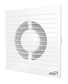Вентилятор накладной Эра с москитной сеткой и фланцем 150 мм (60-615)