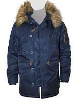 Оригінальна куртка аляска Top Gun N-3B Parka TGN-3B (Navy)