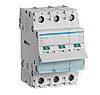 Модульный Выключатель нагрузки однофазный  Hager SBN340 3P 40А/400В 3м