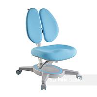 Ортопедическое регулируемое детское кресло для школьника от 7 до 18+ лет ТМ FunDesk Primavera II Blue Голубой