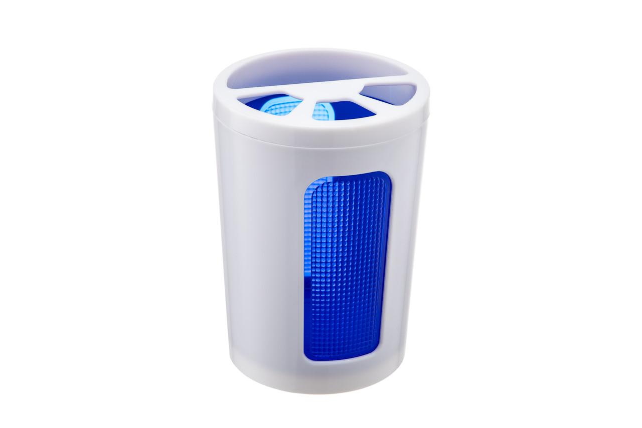 Підставка для зубних щіток Scarlet синій напівпрозорий (АС 45110000)