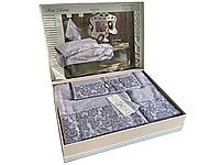 Набор полотенец Maison D'or Rose Marine Lilac бамбуковые 30-50 см,50-100 см,85-150 см лиловые