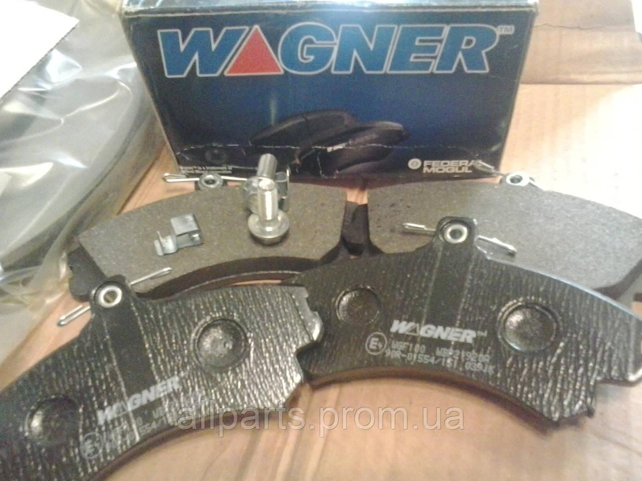 Тормозные колодки Wagner (страна производитель Германия)