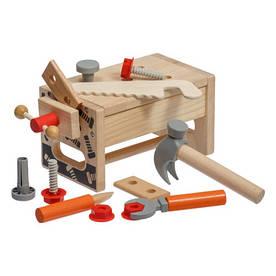 Детский деревянный тематический игровой набор Верстак плотника ТМ Lucy&Leo LL182