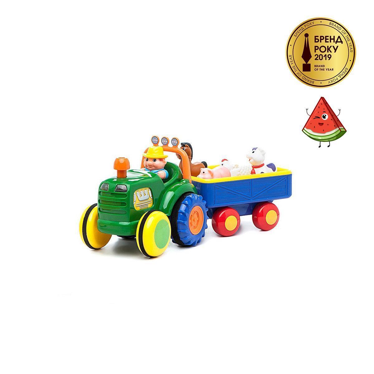 Трактор фермера Kiddieland 049726 озвучений російською