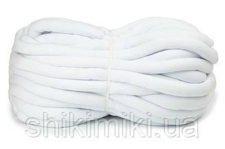 Трикотажный шнур с наполнителем Little Cloud, цвет Белый