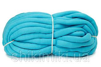 Трикотажный шнур с наполнителем Little Cloud, цвет Голубой