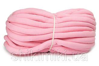 Трикотажный шнур с наполнителем Little Cloud, цвет Розовый