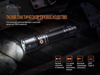 Тактичні ліхтарі Fenix