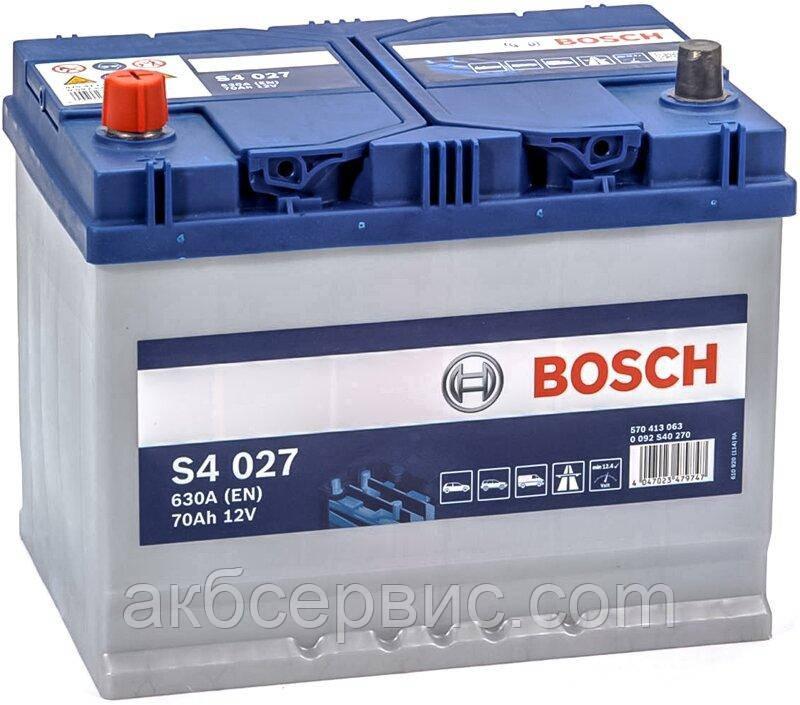 Акумулятор автомобільний Bosch 6СТ-70 S4 Silver (S40 270)
