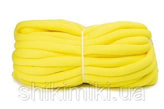 Трикотажный шнур с наполнителем Little Cloud, цвет Желтый