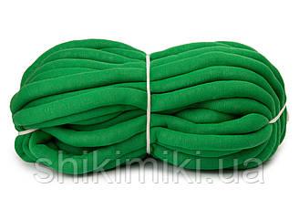Трикотажный шнур с наполнителем Little Cloud, цвет Зеленый