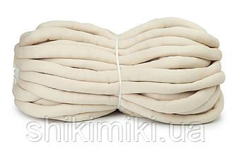 Трикотажный шнур с наполнителем Little Cloud, цвет Бежевый