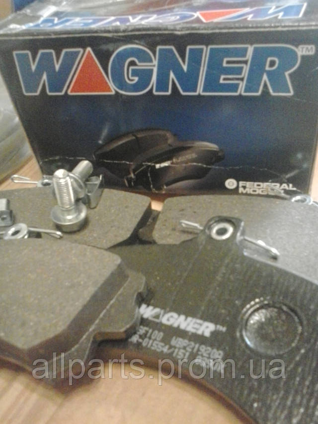 Тормозные колодки Wagner