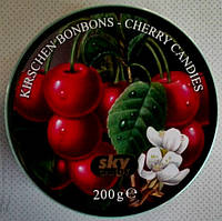 Леденцы Ж/Б 200г-SKY candy Kirschen Bonbons-Cherry Candies