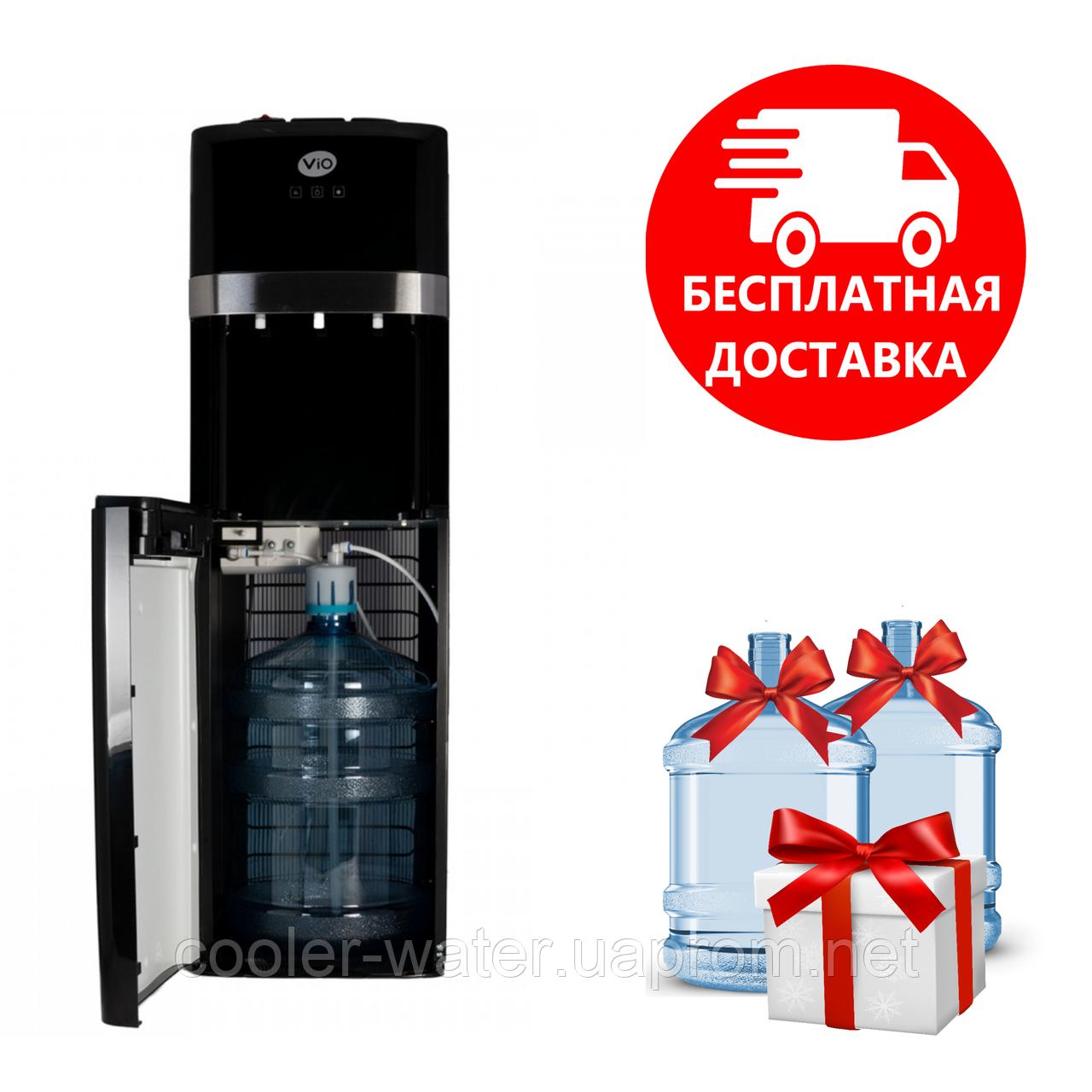 Кулер для води підлоговий з нижнім завантаженням ViO Х601-FCB Black
