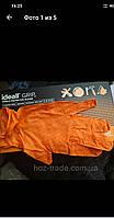 Перчатки плотные Нитриловые  Ideall Grip+(оранжевые) XL 9-10 25пар/50 шт., фото 1