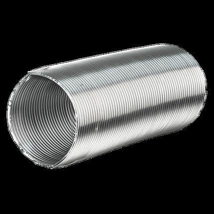 Воздуховод алюминиевый AIR гофрированный 100 мм х 3 м (61-401), фото 2