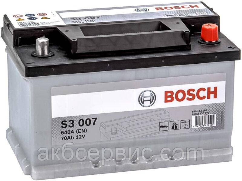 Акумулятор автомобільний Bosch 6СТ-70 S3 (S30 070)