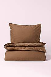Ткань Сатин 240см ширина Кофе 130 плотность 100% хлопок