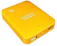 Универсальное зарядное устройство Power bank ОЕМ 4xАА (оранжевый)