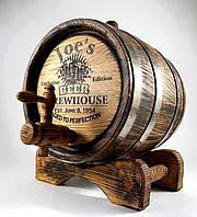 Бочка дубовая 10 л. для самогона, вина, коньяка, кальвадоса, виски, бренди, рома. Покрытие воском в Подарок!