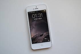 Apple Iphone 5 16Gb Silver NeverlockОригинал!