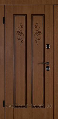 Входная дверь Дива-В 880 декор дуб - дуб