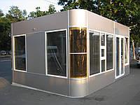 Проекты торговых павильонов из металлоконструкций