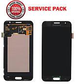 Дисплей + сенсор Samsung J500 Galaxy J5 Чорний Оригінал 100% SERVICE PACK GH97-17667B
