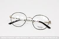 Кругла оправа для окулярів. Металева, фото 1